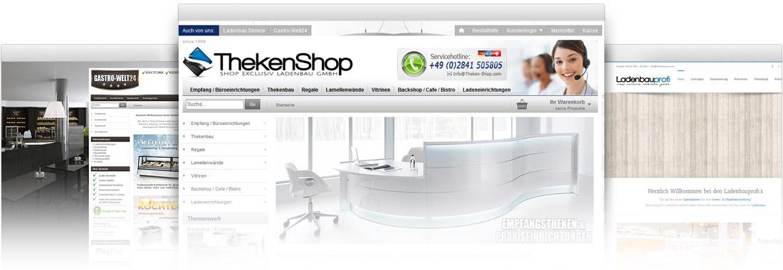 Ladeneinrichtungen Online bestellen