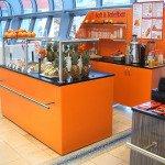 Cafetheke-Safttheke