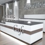 Bistro-Cafe-Ladeneinrichtung-Cafe-Möbel