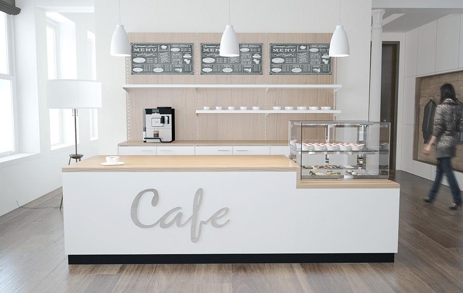 Cafeeinrichtung im Landhausstil