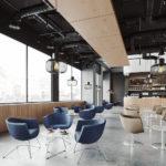Cafe-bestuhlung-moderne-loungesessel