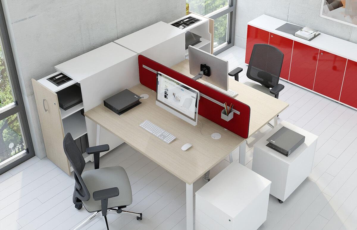 Büro Arbeitsplätze - vom Ladenbauprofi