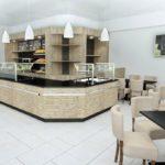 Bäckerei Einrichtung mit Steinfront 01